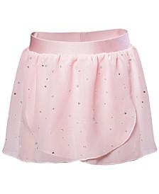Toddler, Little & Big Girls Embellished  Georgette Practice Skirt