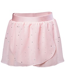 Flo Dancewear Toddler, Little & Big Girls Embellished  Georgette Practice Skirt