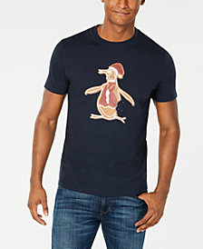 Original Penguin Men's Gingerbread Pete T-Shirt, Created for Macy's