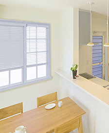 """Cordless 2-in. Embossed Faux Wood Blind, 67""""x72"""""""