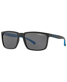 Arnette Polarized Sunglasses, AN4251 58 STRIPE