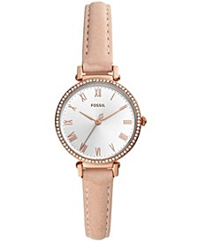 Women's Kinsey Beige Leather Strap Watch 28mm