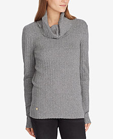 Lauren Ralph Lauren Cowl Neck Sweater
