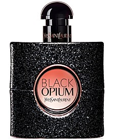 Receive a Complimentary Travel Spray with any large spray purchase from the Women's Yves Saint Laurent Black Opium Fragrance Collection. A $74 Value!