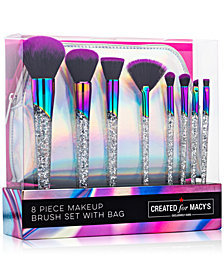 Macy's Beauty Collection 9-Pc. Galactic Makeup Brush Set, Created For Macy's