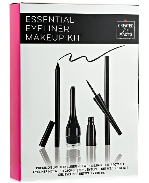 4-Pc. Essential Eyeliner Makeup Set, Created For Macy's