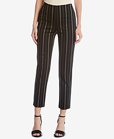 Karen Kane Striped Straight-Leg Pants