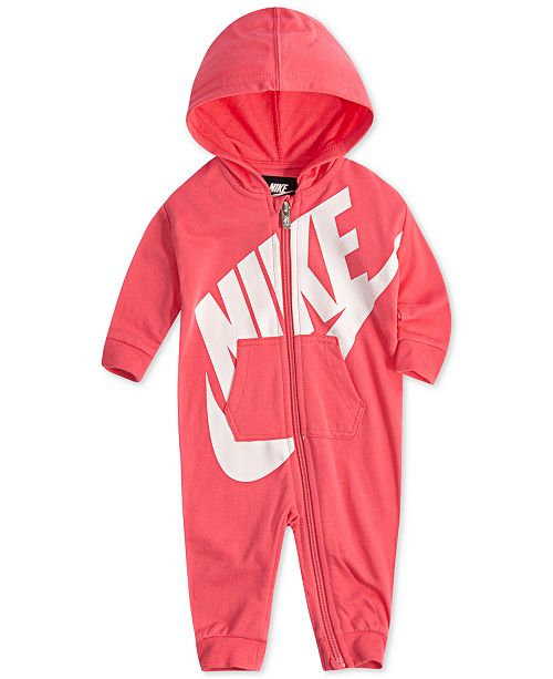 reputable site 266e6 57852 ... Nike Baby Boys and Girls Play All Day Hooded Coverall ...