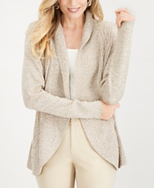 Karen Scott Petite Cocoon Cardigan, Created for Macy's