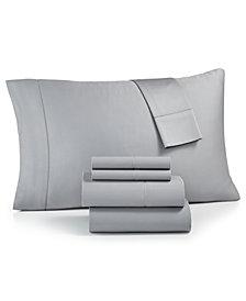 Westport Solid 6-Pc. Queen Sheet Set, 1500 Thread Count Cotton Blend Sateen