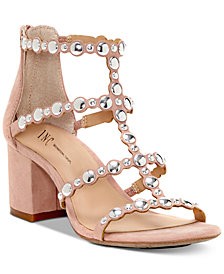 I.N.C. Helmi Block-Heel Sandals, Created For Macy's