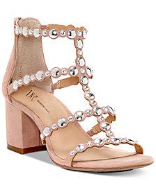 I.N.C. Helmi Block-Heel Sandals, Created For Macy's