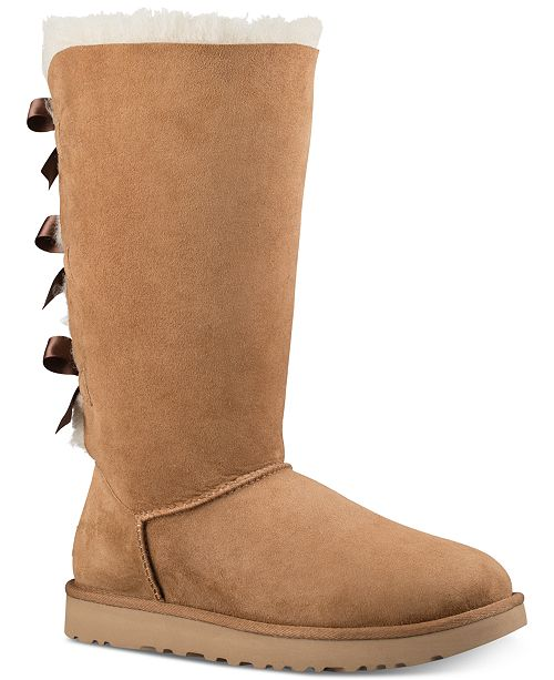 ea59a7faba8 UGG® Women's Bailey Bow II Boots & Reviews - Boots - Shoes - Macy's