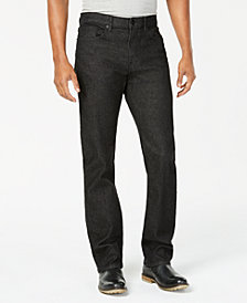 Kenneth Cole Straight-Fit Stretch Jeans