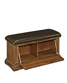 Bermuda Queen Poster Bed and Two Night Stands, Espresso Finish