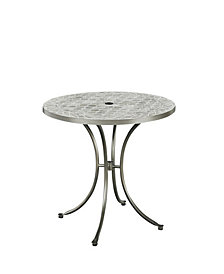 Home Styles Umbria Concrete Tile Round Outdoor Table
