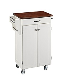 Cuisine Cart with Cherry Top