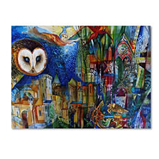 Oxana Ziaka 'Owl' Canvas Art Print Collection