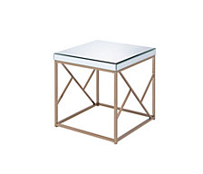 Evelyn End Table, Quick Ship