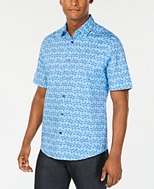 Alfani Men's Floral-Print Shirt, Created for Macy's