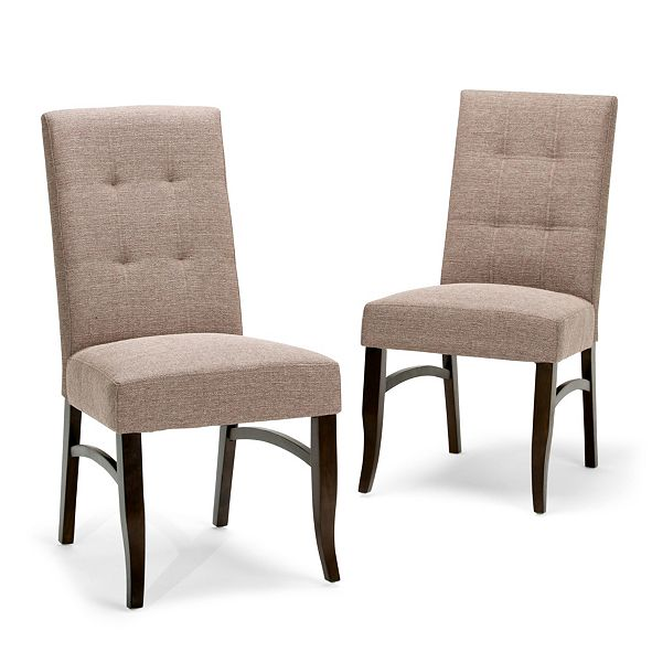 Simpli Home Oakdan Dining Chairs (Set of 2)