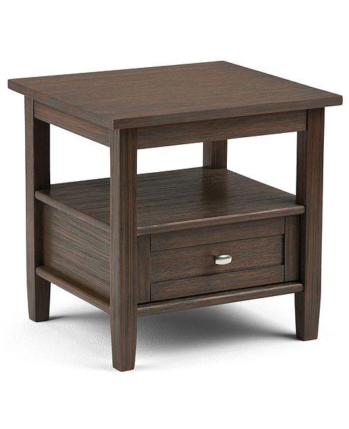 Simpli Home Burbank End Table