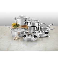 Cuisinart Conical Stainless Steel Induction 11 Piece Cookware Set