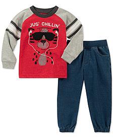 Kids Headquarters Baby Boys 2-Pc. T-Shirt & Jogger Pants Set
