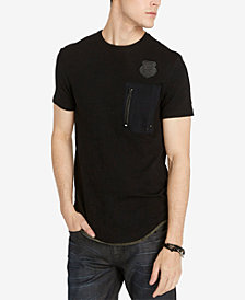 Buffalo David Bitton Men's Kodle Zip-Pocket T-Shirt