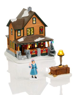 A Christmas Story Village Triple Dog Dare Collectible Figurine