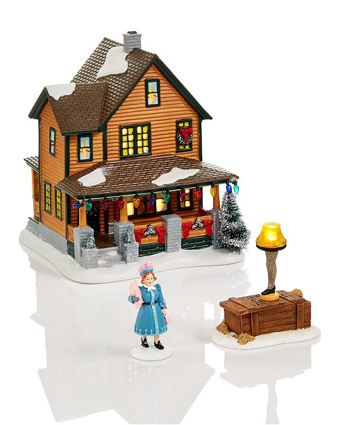 A Christmas Story Characters.A Christmas Story Village Collection