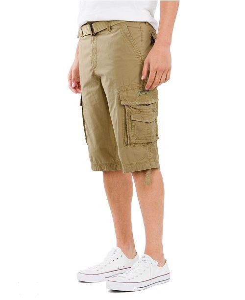 d656facf7c Men's Big and Tall Belted Cordova Messenger Short
