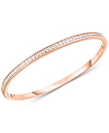 Swarovski Zirconia Bangle Bracelet