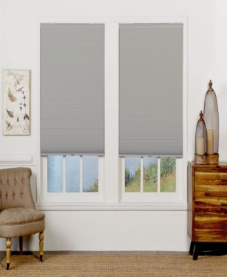 Cordless Blackout Cellular Shade, 37x84