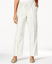 Alfred Dunner Pull-On Corduroy Pants