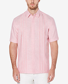 Cubavera Men's Big & Tall Pleated Shirt
