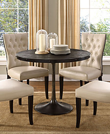 Drive 40 Inch Round Wood Top Dining Table