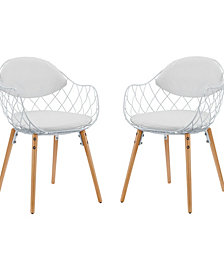 Modway Basket Dining Set Set of 2