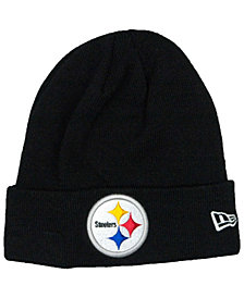 New Era Pittsburgh Steelers Basic Cuff Knit