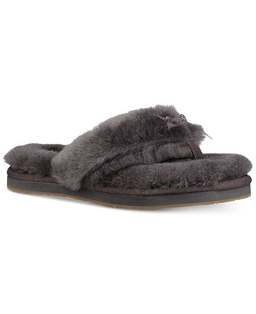 76bd3d7cde2 UGG® Women s Fluff Flip-Flop III Slippers   Reviews - Slippers ...