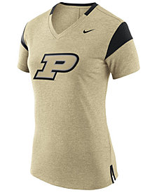 Nike Women's Purdue Boilermakers Fan V Top T-Shirt