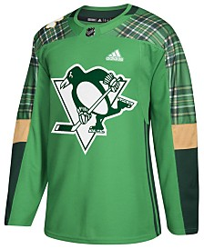 adidas Men's Pittsburgh Penguins St. Patrick's Day Authentic Jersey