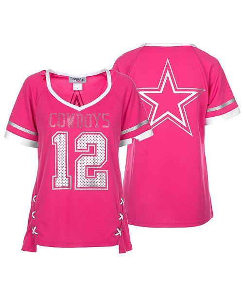 big sale f035f ce9c3 Authentic NFL Apparel Women's Dallas Cowboys Vixen Jersey ...
