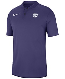 Nike Men's Kansas State Wildcats Elite Coaches Polo 2018