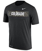 5e2dd551511 Nike Men s Colorado Buffaloes Legend Staff Sideline T-Shirt