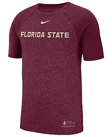 Nike Florida State Seminoles NCAA Men's Marled Raglan T-Shirt