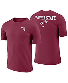 Nike Men's Florida State Seminoles Dri-FIT Cotton Stadium T-Shirt