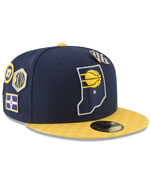 new arrivals 56dfc 3e2b1 ... New Era Indiana Pacers City On-Court 59FIFTY FITTED Cap ...