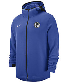 Nike Men's Dallas Mavericks Dry Showtime Full-Zip Hoodie