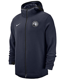 Nike Men's Minnesota Timberwolves Dry Showtime Full-Zip Hoodie
